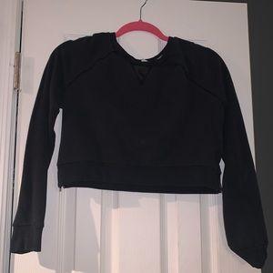 Abercrombie Crop Sweater